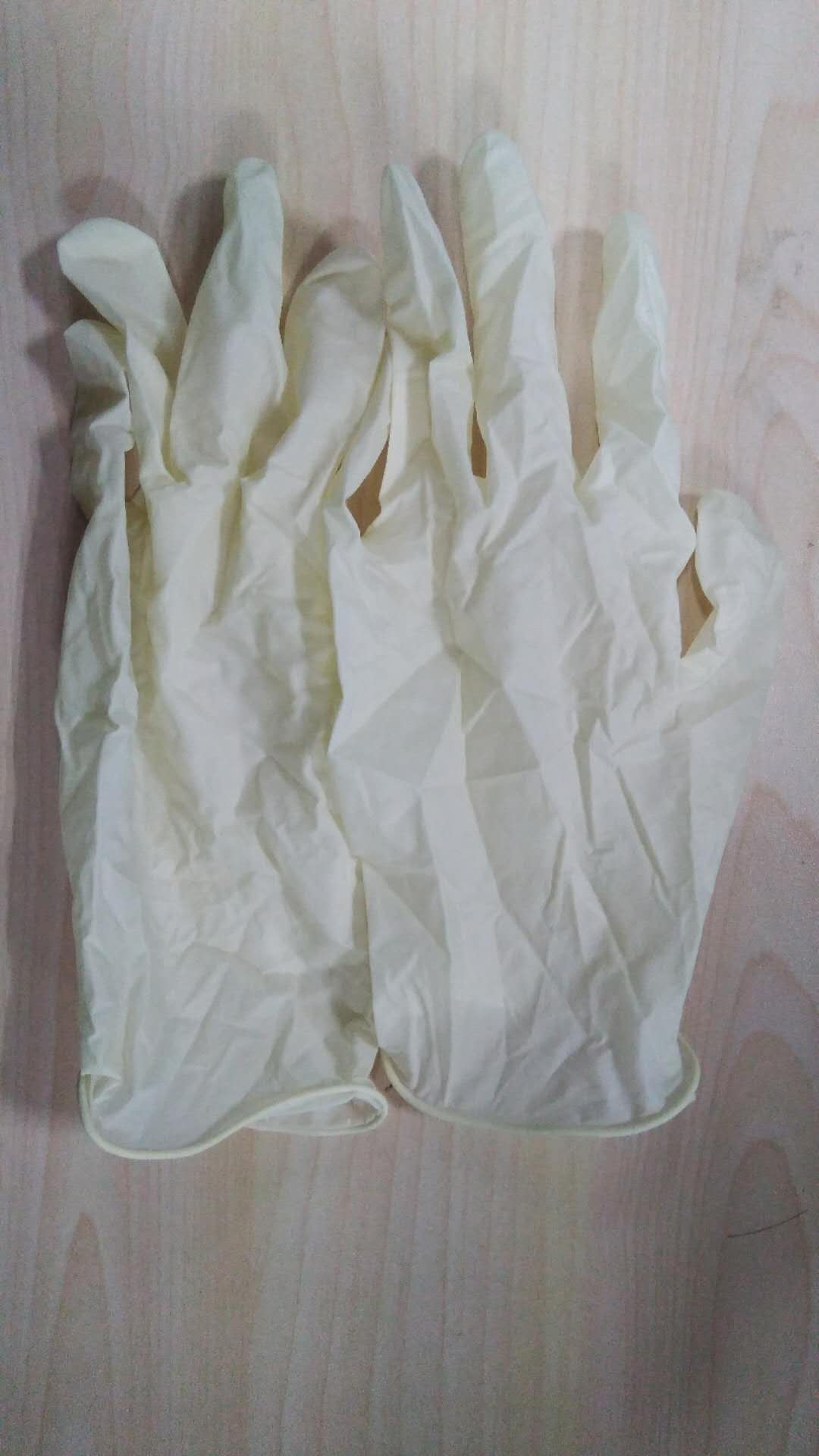 4576-一次性天然乳胶手套-一次性乳胶手套